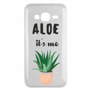 Phone case for Samsung J3 2016 Aloe it's me