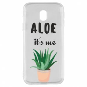 Phone case for Samsung J3 2017 Aloe it's me