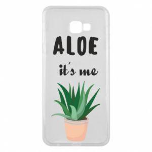 Phone case for Samsung J4 Plus 2018 Aloe it's me