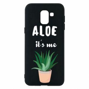 Phone case for Samsung J6 Aloe it's me