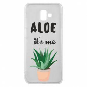 Phone case for Samsung J6 Plus 2018 Aloe it's me