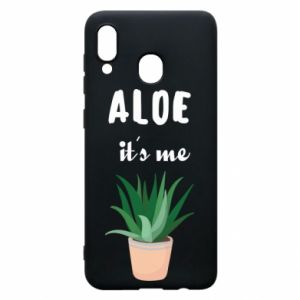 Phone case for Samsung A20 Aloe it's me