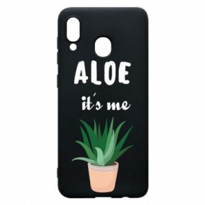 Phone case for Samsung A30 Aloe it's me