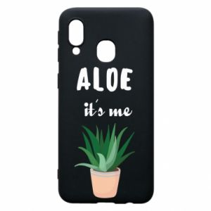Phone case for Samsung A40 Aloe it's me