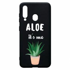 Phone case for Samsung A60 Aloe it's me