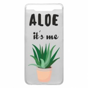 Phone case for Samsung A80 Aloe it's me