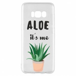 Phone case for Samsung S8 Aloe it's me