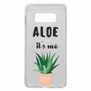 Phone case for Samsung S10e Aloe it's me