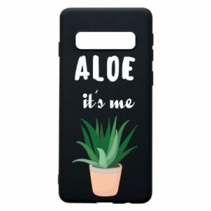 Phone case for Samsung S10 Aloe it's me
