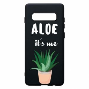 Phone case for Samsung S10+ Aloe it's me