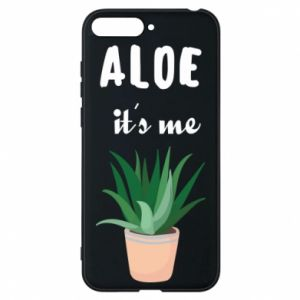 Phone case for Huawei Y6 2018 Aloe it's me