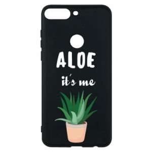 Phone case for Huawei Y7 Prime 2018 Aloe it's me