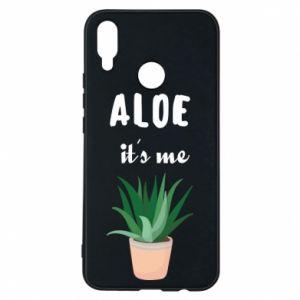 Phone case for Huawei P Smart Plus Aloe it's me