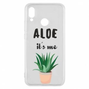 Phone case for Huawei P20 Lite Aloe it's me