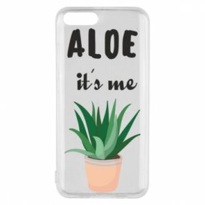 Phone case for Xiaomi Mi6 Aloe it's me