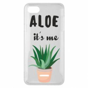 Phone case for Xiaomi Redmi 6A Aloe it's me