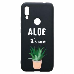 Phone case for Xiaomi Redmi 7 Aloe it's me