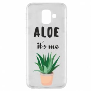 Phone case for Samsung A6 2018 Aloe it's me