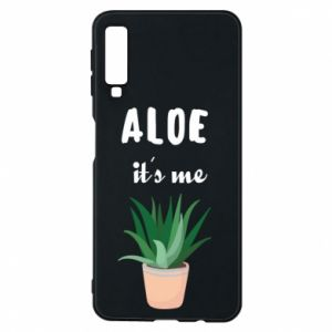 Phone case for Samsung A7 2018 Aloe it's me