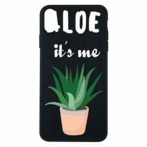 Phone case for iPhone Xs Max Aloe it's me