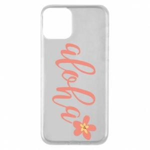 Etui na iPhone 11 Aloha tropic flower