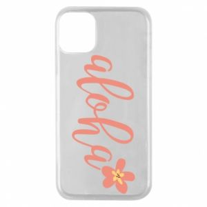 Etui na iPhone 11 Pro Aloha tropic flower