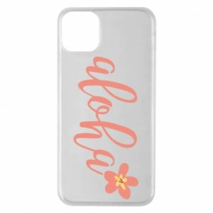 Etui na iPhone 11 Pro Max Aloha tropic flower