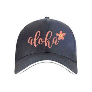 Czapka Aloha tropic flower