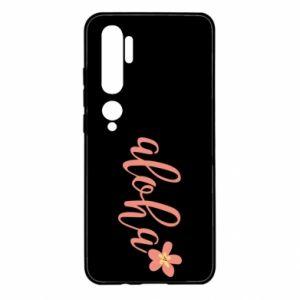 Etui na Xiaomi Mi Note 10 Aloha tropic flower