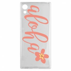 Etui na Sony Xperia XA1 Aloha tropic flower