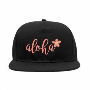 Snapback Aloha tropic flower