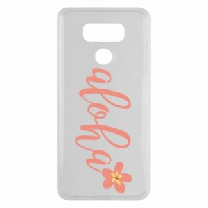 Etui na LG G6 Aloha tropic flower