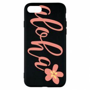 Etui na iPhone SE 2020 Aloha tropic flower
