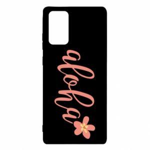 Etui na Samsung Note 20 Aloha tropic flower