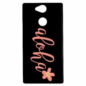Etui na Sony Xperia XA2 Aloha tropic flower