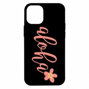 Etui na iPhone 12 Mini Aloha tropic flower