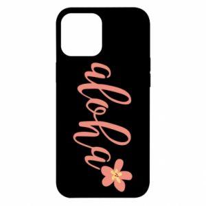 Etui na iPhone 12 Pro Max Aloha tropic flower