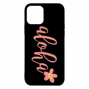 Etui na iPhone 12/12 Pro Aloha tropic flower