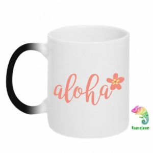 Kubek-magiczny Aloha tropic flower