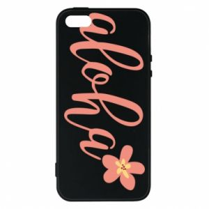 Etui na iPhone 5/5S/SE Aloha tropic flower