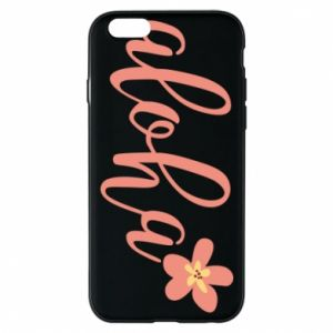 Etui na iPhone 6/6S Aloha tropic flower