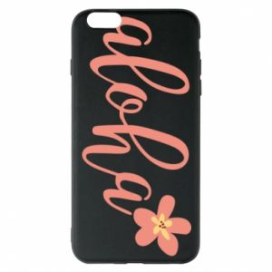 Etui na iPhone 6 Plus/6S Plus Aloha tropic flower