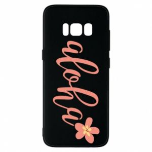 Etui na Samsung S8 Aloha tropic flower