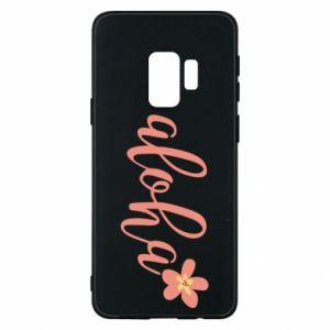 Etui na Samsung S9 Aloha tropic flower