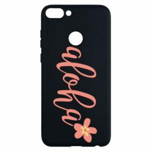 Phone case for Huawei P Smart Aloha tropic flower