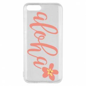 Etui na Xiaomi Mi6 Aloha tropic flower