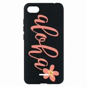 Etui na Xiaomi Redmi 6A Aloha tropic flower