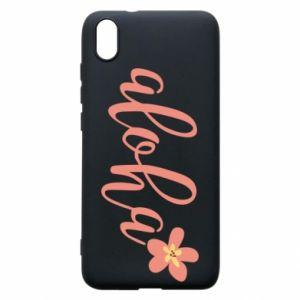 Etui na Xiaomi Redmi 7A Aloha tropic flower