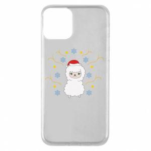 iPhone 11 Case Alpaca in the Snowflakes