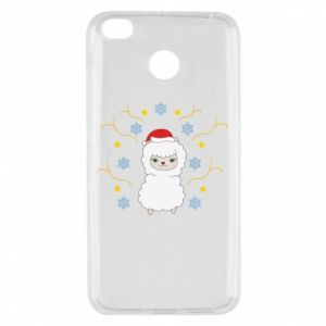 Xiaomi Redmi 4X Case Alpaca in the Snowflakes